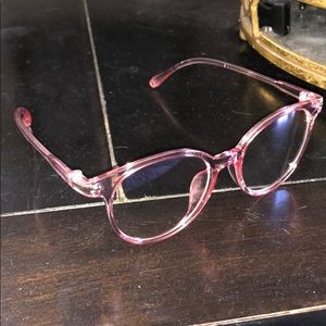 Clear Frames - Light Rose Tint